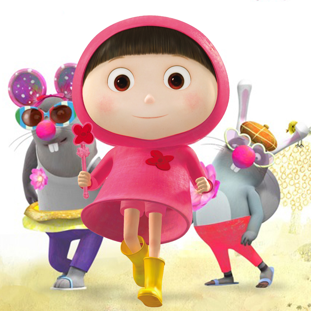 THE SUPER PINK RIDING HOOD